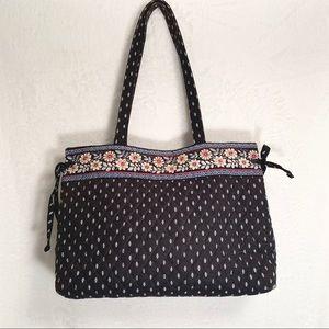 VERA BRADLEY | Signature Logo Floral Tote Bag